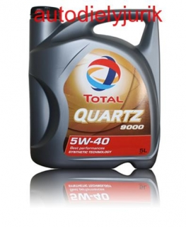Olej Total  Quartz 5W-40 5l